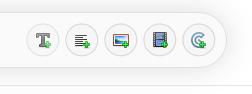 New Notes toolbar