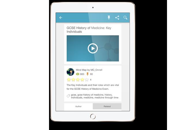 GoConqr Mobile learning app