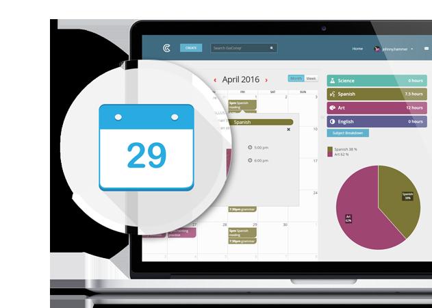 GoConqr online Study Planner
