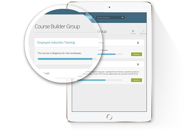 Online course maker