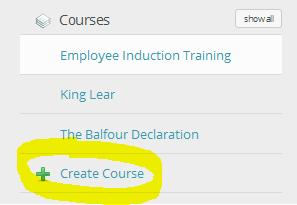 course builder