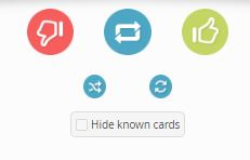 Hide Flashcards